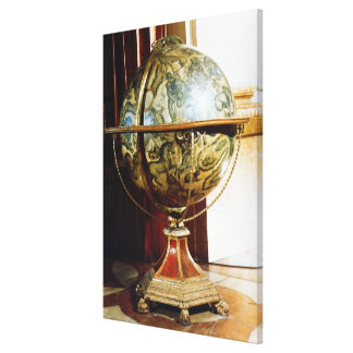 Celestial globe, 1688 canvas print