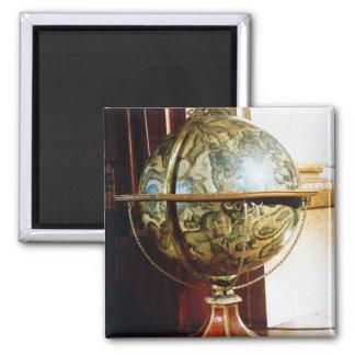 Celestial globe, 1688 magnet