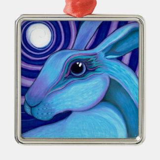 Celestial hare christmas ornament