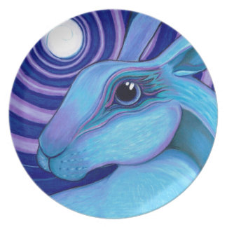 Celestial hare plate