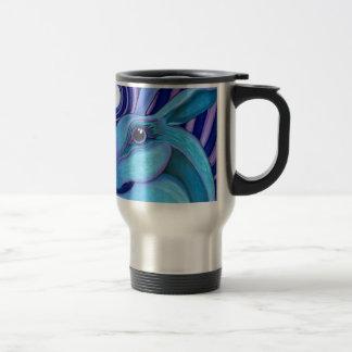 Celestial hare travel mug