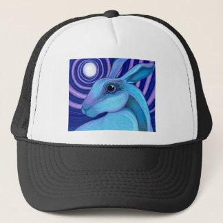 Celestial hare trucker hat