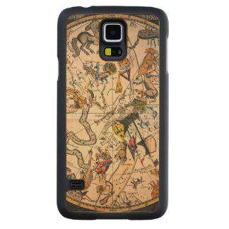 Celestial Hemisphere, 1790 Carved Maple Galaxy S5 Case