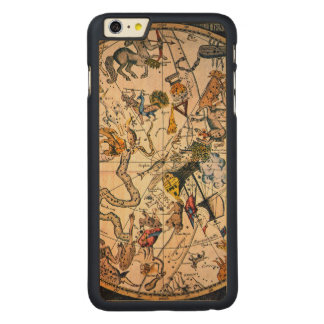 Celestial Hemisphere, 1790 Carved Maple iPhone 6 Plus Case