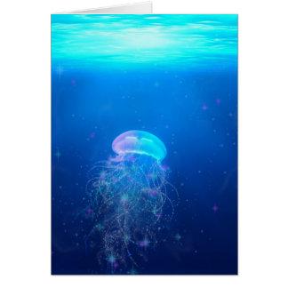 Celestial Jellyfish Card