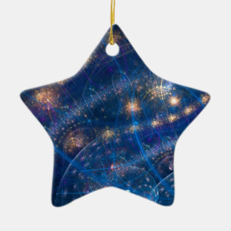 Celestial Lighs Ceramic Star Decoration