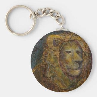 Celestial Lion Keychain