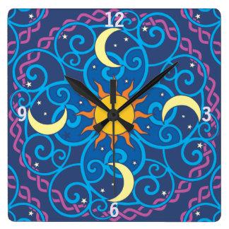 Celestial Mandala Clock