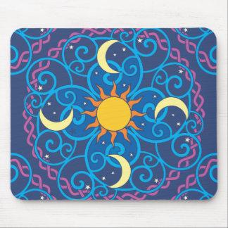 Celestial Mandala Mousepad