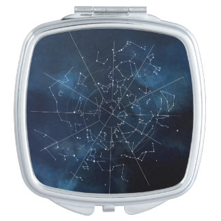 Celestial Map Mirror For Makeup
