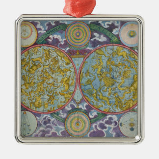Celestial Map of the Planets Christmas Ornament