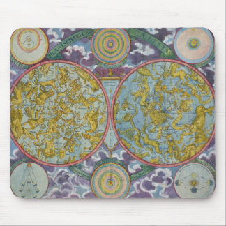 Celestial Map of the Planets Mouse Mat