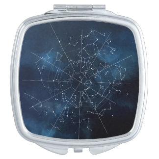 Celestial Map Vanity Mirror