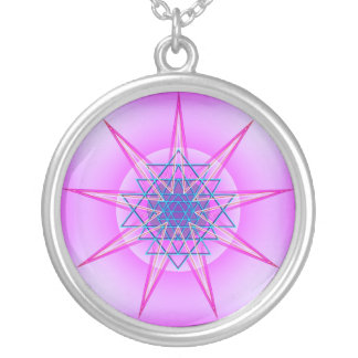 Celestial Might Silver Plated Necklace
