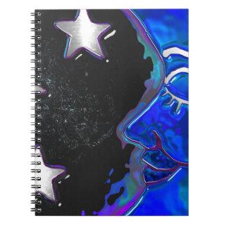 Celestial Momments Bohemian Folk Art JOURNAL NOTES