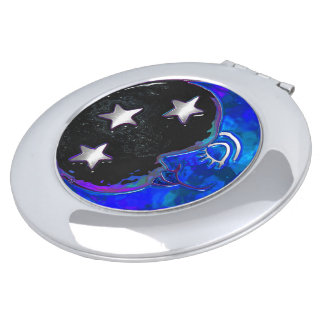 Celestial Momments Bohemian Folk Art MAKEUP MIRROR