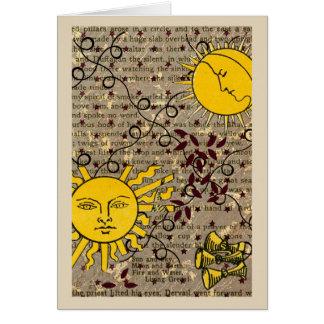 Celestial Nights Ascension Sun Moon Card