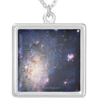 Celestial Objects 2 Silver Plated Necklace
