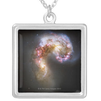 Celestial Objects 5 Silver Plated Necklace