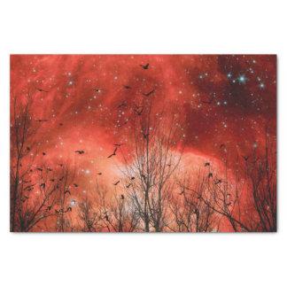 Celestial Red Tissue Paper