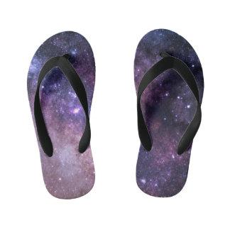 Celestial River Kid's Flip Flops