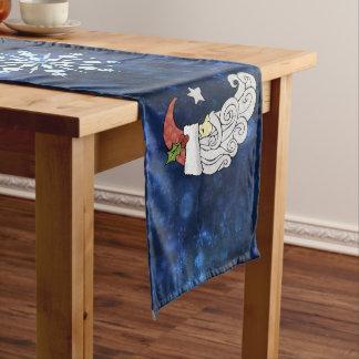 Celestial Santa Medium Table Runner