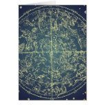 Celestial Space Chart Greeting Cards