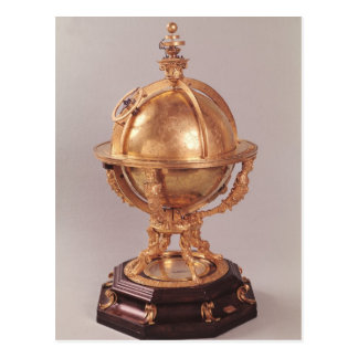 Celestial sphere, c.1580 postcard