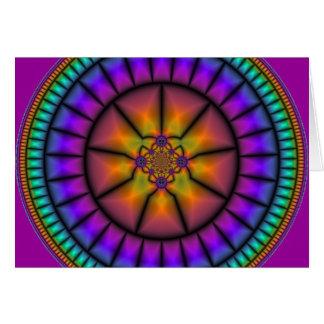 Celestial Sphere Mosaic Card
