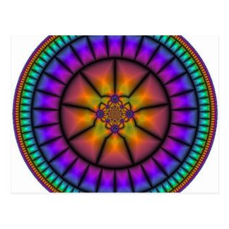 Celestial Sphere Mosaic Postcard