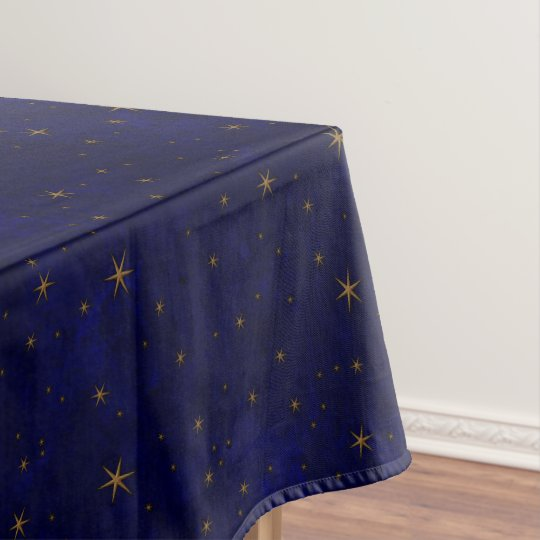 Celestial Starry Night Tablecloth