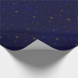 Celestial Starry Night Wrapping Paper