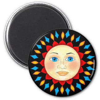 Celestial Sun Face Magnet