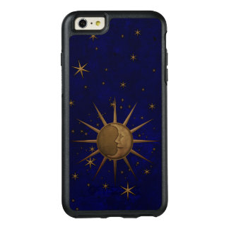 Celestial Sun Moon Brass Bas Relief Graphic OtterBox iPhone 6/6s Plus Case