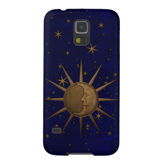 Celestial Sun Moon Starry Night Cases For Galaxy S5