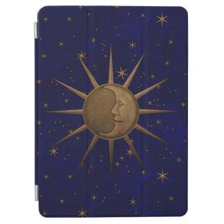 Celestial Sun Moon Starry Night iPad Air Cover