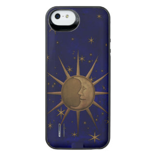 Celestial Sun Moon Starry Night iPhone SE/5/5s Battery Case