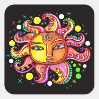 Celestial Sunface Sticker