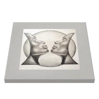 Celestial symmetry. canvas print