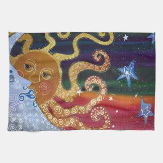 Celestial Tea Towel