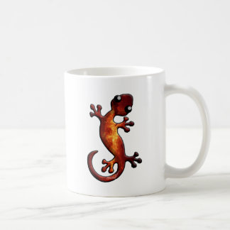Celestial Theme Gecko Coffee Mug