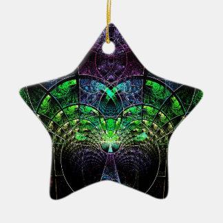 Celestial Tree Ceramic Star Decoration