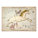 Celestial Vintage Map 5x7 Paper Invitation Card