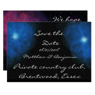 Celestial wedding invites