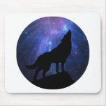 Celestial Wolf Mousepads