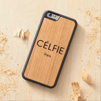CELFIE Paris Carved Cherry iPhone 6 Bumper Case
