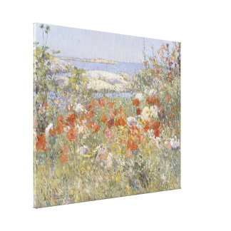 Celia Thaxter's Garden by Frederick Childe Hassam Canvas Prints