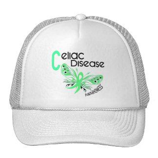 Celiac Disease BUTTERFLY 3.1 Mesh Hats