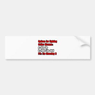 Celiac Disease Fighting Options Bumper Sticker