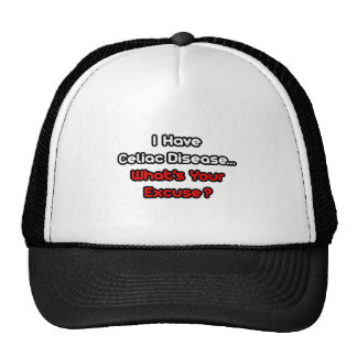 Celiac Disease...What's Your Excuse? Hats